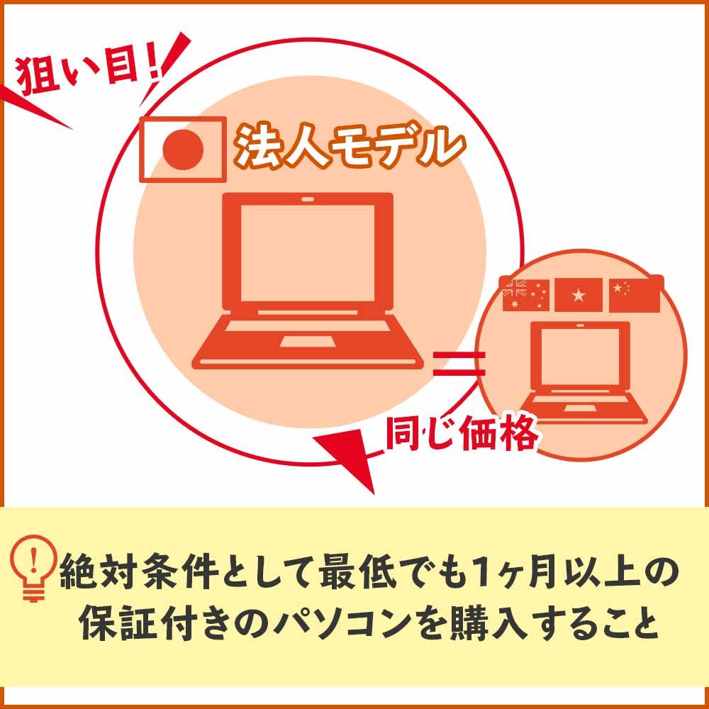 日本製でも法人向けの中古パソコンは狙い目!
